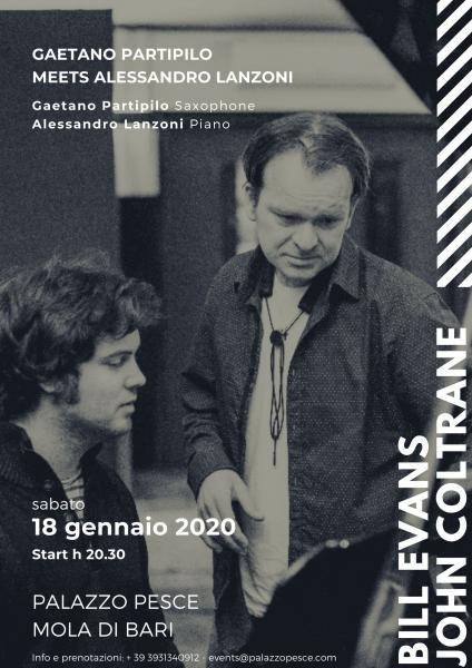 Gaetano Partipilo meets Alessandro Lanzoni [Bill Evans and John Coltrane]