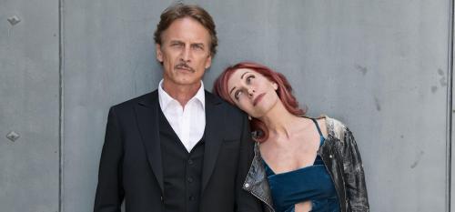 "Cesare Bocchi e Tiziana Foschi in ""Pesce d'Aprile"""