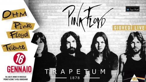 OHM PINK FLOYD Live Bisceglie - Trapetum Pub
