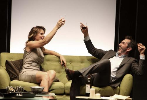 La Menzogna, Serena Autieri e Paolo Calabresi sul palco di Bitonto