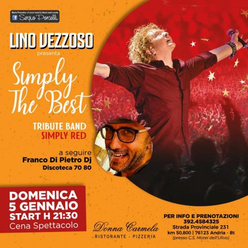 Simply the Best - Tribute band Simply Red | Donna Carmela