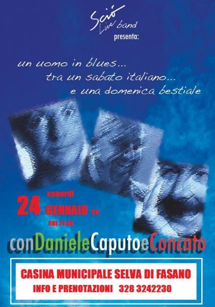 Sciò live band presenta: Daniele  Caputo  Concato