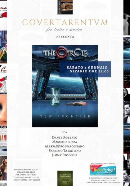 The Circle in concerto a Taranto