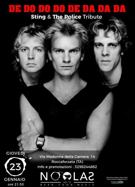 DE DO DO DO DE DA DA DA Sting & The Police Tribute