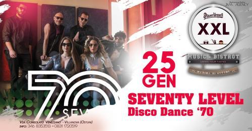 Seventy Level at XXL Music Bistrot (Villanova)