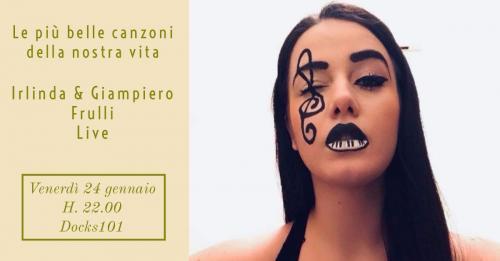 Le più belle canzoni della nostra vita – Irilda & Giampiero Frulli Live