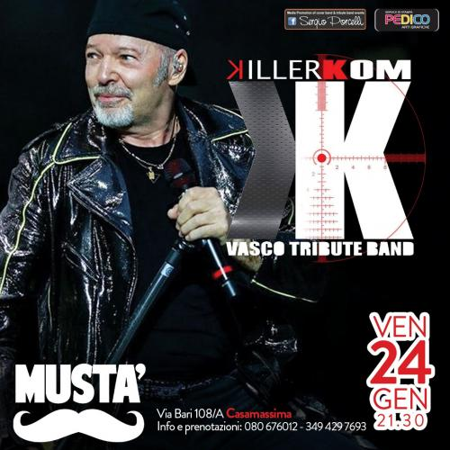 Killerkom Vasco tribute band live a Casamassima