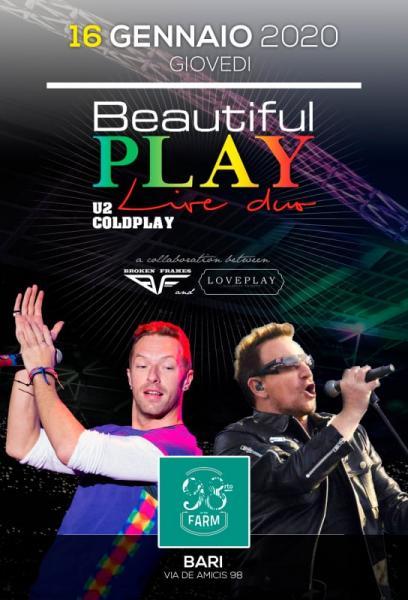 Beautiful Play U2 & Coldplay Live Duo - 98rto
