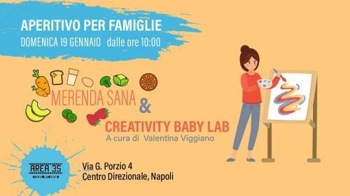 Aperitivo per famiglie// creativity baby lab & meranda sana // Domenica mattina