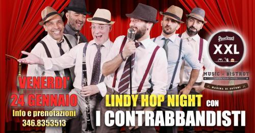Lindy Hop Night - I CONTRABBANDISTI - XXL Music Bistrot (Villanova)