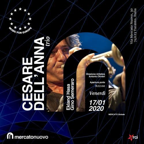 Cesare Dell'Anna Trio live a Mercato Nuovo