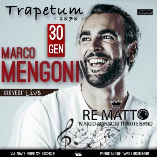 RE MATTO - Marco Mengoni tribute band a Bisceglie