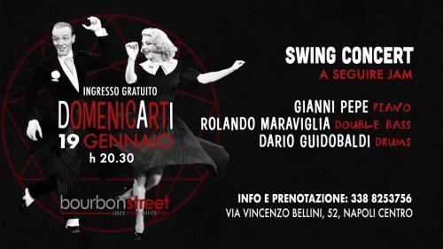 Domenica in prima serata nel centro di Napoli Swing Concert