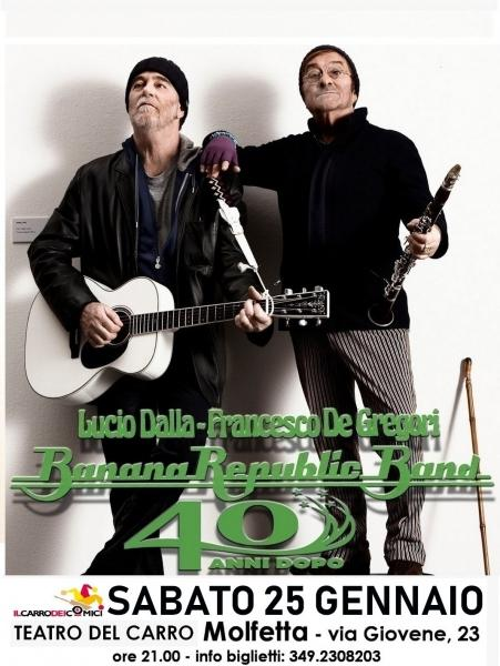 BananaRepublicBand - Omaggio a Lucio Dalla e Francesco De Gregori