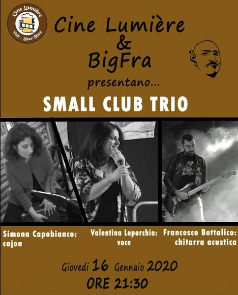 Small Club Trio LIVE