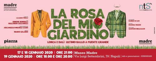 """""""La rosa del mio giardino"""" debutto al Museo Madre"""