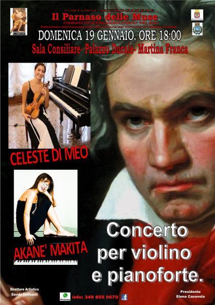 CONCERTO PER VIOLINO E PIANOFORTE