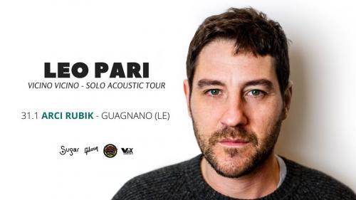 LEO PARI live - Arci Rubik