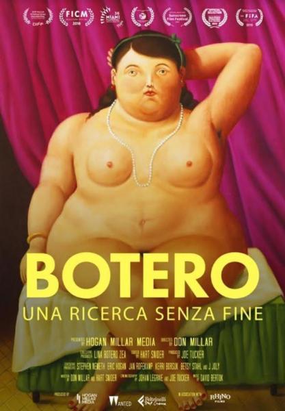 """""""Botero"""" in programma alla Multisala Paolillo"""