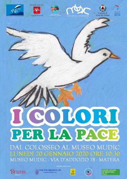 Pace, dal Colosseo al Museo MUDIC nei Sassi di Matera.