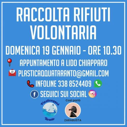 Raccolta Rifiuti Volontaria - Lido Chiapparo
