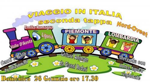 VIAGGIO IN ITALIA NORD OVEST. Dalla Valle D'Aosta alla Romagna