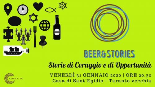 Beer&Stories - Storie di coraggio e di opportunità