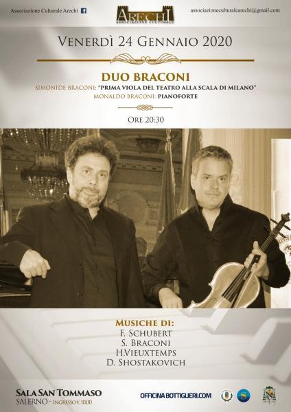 Duo Braconi viola e pianoforte