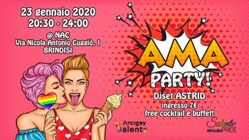 AMA Party! a Brindisi