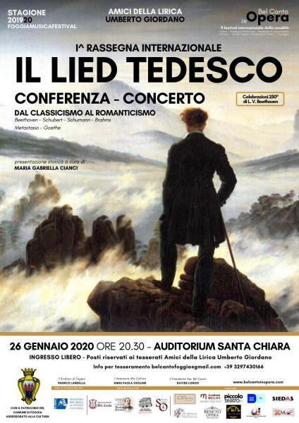 IL LIED TEDESCO A FOGGIA
