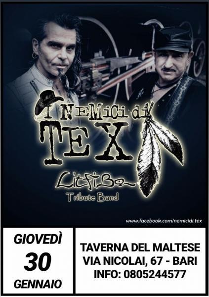 Nemici di Tex-Litfiba - Taverna del Maltese