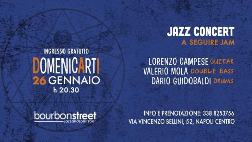 Domenica in prima serata nel centro di Napoli // Jazz concert