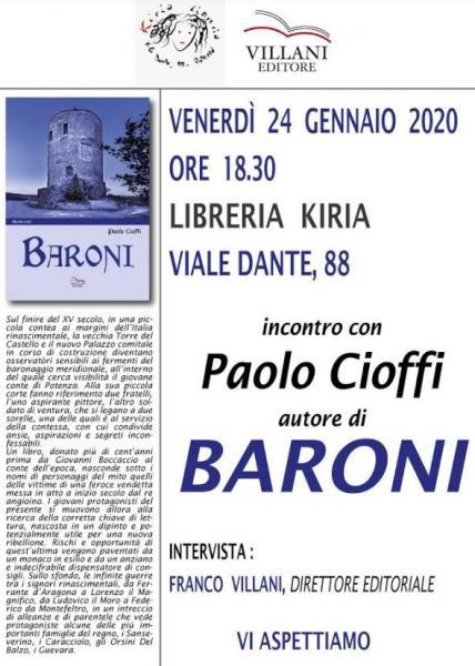 """""""Baroni"""" la presentazione a Potenza"""