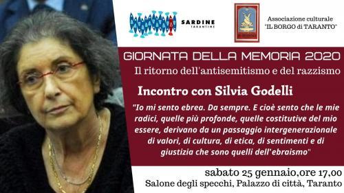 Io mi sento ebrea - Testimonianza di Silvia Godelli. Giornata della Memoria 2020