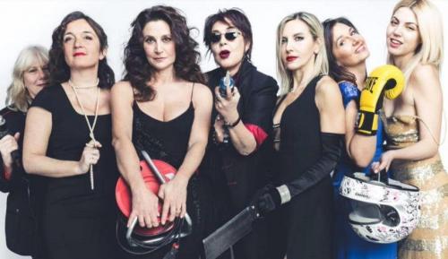 """Cinque donne sul palco per """"Fermenti lattici"""""""