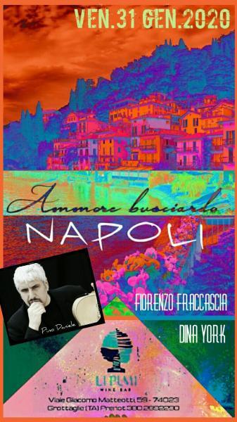 Ammore Busciardo - Tributo a Pino Daniele ed alla musica partenopea