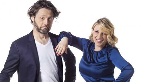 Katia Follesa e Angelo Pisani in Finche' Social non ci Separi a Roma