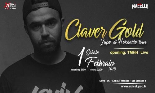 Claver Gold + TMHH 'Lupo di Hokkaido' tour – Lab Ex Macello
