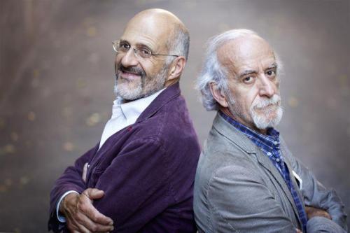 Paolo Triestino e Nicola Pistoia in IL ROMPIBALLE