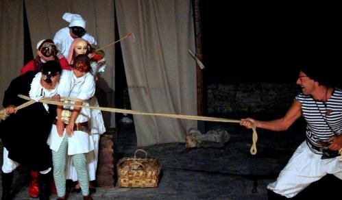 Pulcinella a Corte, on stage a Cisternino