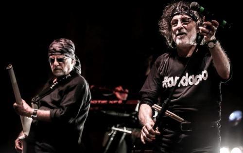 PFM canta De Andre' a Roma