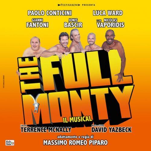 """Al Sistina una versione italiana di """"The Full Monty"""""""