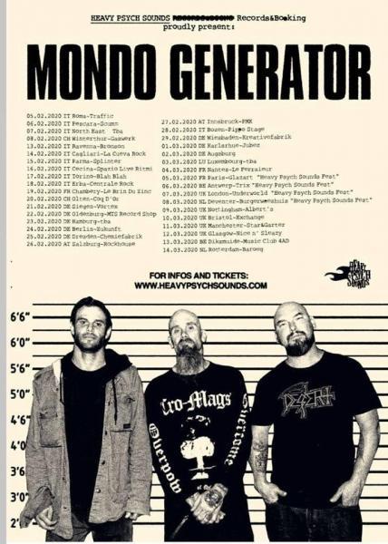 Mondo Generator (QOTSA, Kyuss) live at Traffic