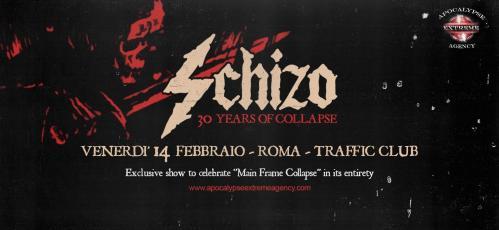 "Schizo ""Main Frame Collapse"" special show"