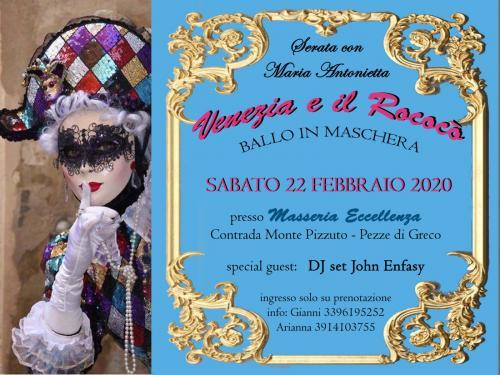 Venezia e il Rococo' - Serata con Maria Antonietta