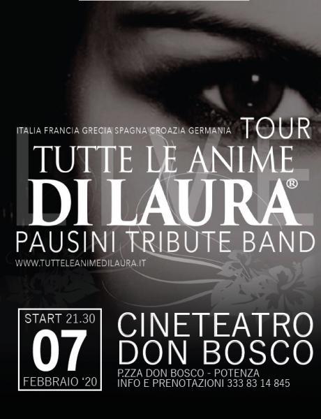 Tutte le Anime di Laura Live Tour 2020