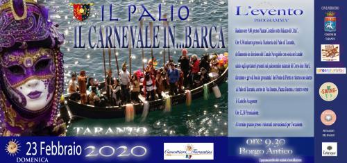 Carnevale in... barca