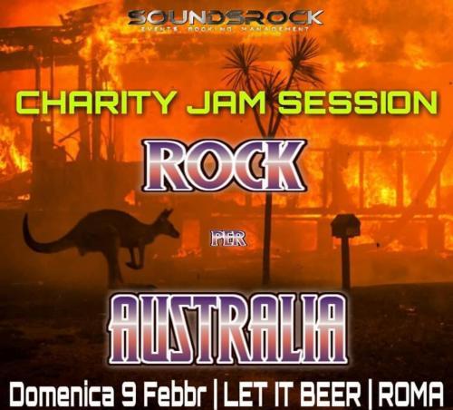 ROCK per AUSTRALIA - Evento di beneficenza
