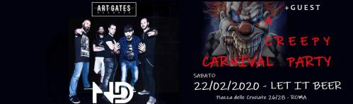 Creepy Carnival Party - Un'inquietante festa di Carnevale