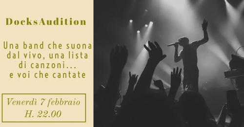 DocksAudition – il contest musicale del Docks